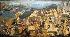 Cassone with the Conquest of Trebizond