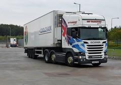 SL63 YUG (Cammies Transport Photography) Tags: truck centre transport tesco lorry welch fowler livingston distribution scania yug jhp r620 sl63 sl63yug