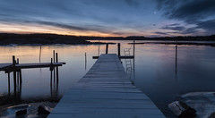 A new day (Per-Karlsson) Tags: morning sea seascape ice water dawn coast frozen jetty mooring bohuslän waterscape swedishwestcoast canonef24105mmf40lisusm canoneos6d