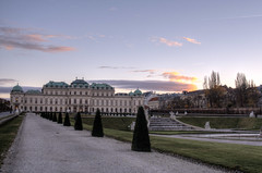 Upper Belvedere Palace, Vienna (neilalderney123) Tags: vienna landscape austria olympus palace omd belvederepalace 2015neilhoward
