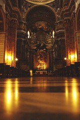 Low down (ckru) Tags: vacation italy rome travelling art church canon interior dslr