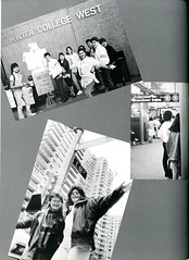 Students at Hunter College (Hunter College Archives) Tags: students 1988 yearbook hunter subwaystation lexingtonave huntercollege 68thst wistarion thewistarion huntercollegewest