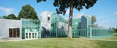 DSC02431-32 (trevor.patt) Tags: panorama architecture campus university gallery gehry toledo oh deconstructivist