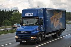 C10DER (stamper104) Tags: truck lorry scania westons 6wheeler t380 alltypesoftransport anykindofvehicles transportintheframe transportoftheworld worldtrucks