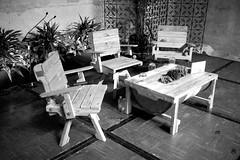 Sala Tito en el Santa Clara (Cartonero Promedio) Tags: festival silla hay pallets cartagena upcycle estibas