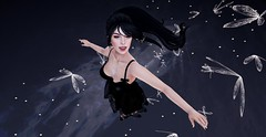 [ Chasing ] (Saber's Virtual Diaries) Tags: black dark secondlife virtual saber dreamy darling chasing