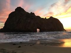 Pfeiffer Beach, Big Sir (JuliaSF1) Tags: pfeifferbeach iphone bigsir