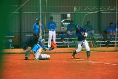 Senior high baseball game (Kevin Chiou11) Tags: baseball