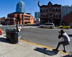 Publicity (ramseybuckeye) Tags: life street city music art photographer nashville pentax guitar tennessee broadway shooting publicity