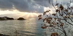 Morning lights Piraeus (spicros78) Tags: mobile sunrise shot outdoor piraeus alcatelc9