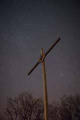 Kreuz Sternenhimmel (steffens.jens) Tags: berg high cross god nacht sony jesus kirche himmel 7 iso kreuz alpha mosel sterne gott langzeitbelichtung calmont beten bremm sternenhimmel a