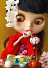 -Hinamatsuri- (Minit) Tags: miniature doll blythe rement goldie allgoldinone hinamatsuri