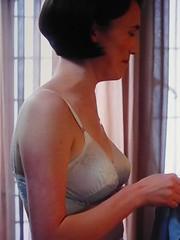 Barbara Gilbert (Charlotte Ritchie) (vintage ladies) Tags: portrait woman female 60s underwear bra bbc nurse lovely nurses 60sstyle eoshe 60swoman callthemidwife 60slady