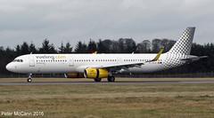 EC-MJR A321 Edinburgh March 2016 (pmccann54) Tags: vuelling airbusa321 ecmjr