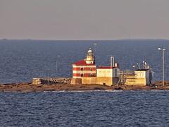 Mrket island and lighthouse (Franz Airiman) Tags: cruise lighthouse finland island market sweden border balticsea baltic cruiseship aland land birka birkacruises sdrakvarken mrket slskr salskar birkastockholm