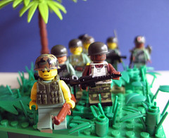 Viet Nam (Franckfbe) Tags: war lego vietnam collection marines 1968 guerre