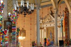 Koci pw. w. Anny - yse (jacekbia) Tags: flowers church colors canon religion poland polska indoor tamron kwiaty folklor kurpie palmy koci kolory religia wntrze tradycja niedzielapalmowa rkodzieo yse