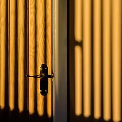 The golden hour on the closet door (fishyfish_arcade) Tags: door nikon warm 1855mm doorhandle lightandshade d3200 afsdxnikkor1855mmf3556gvrii