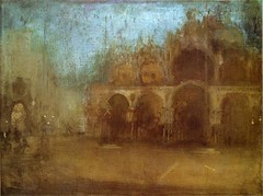 James Abbott McNeill Whistler — Nocturne: Blue and Gold (St. Mark's, Venice), 1880. Painting: Oil on canvas, 44.5 x 59.7 cm. Amgueddfa Cymru, Cardiff, UK. Via Art of Darkness: Daily Art Blog (ArtAppreciated) Tags: painting fineart blogs td artblogs tumblr artoftheday artofdarkness artappreciated artofdarknessco artofdarknessblog