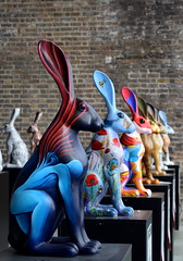 Bunnies! (Keith Mac Uidhir  (Thanks for 3.5m views)) Tags: ireland dublin color colour rabbit bunny art colors easter colorful colours display pascua irland exhibition pscoa colourful ostern easterbunny dublino irlanda irlande pasqua pasko ierland easterrabbit irska wielkanoc pques dubln irlandia lirlanda irsko  paskalya airija  irlanti  cng  iirimaa ha     rorszg         rlnd
