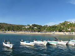Puerto ngel, Oaxaca (CLAUDIA COTA) Tags: world travel paisajes beach water mxico america landscape mexico photography agua arte lakes oaxaca traveling playas huatulco fotografa mejico claudiacota