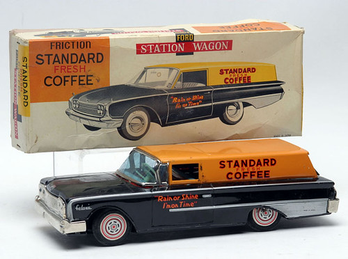 Standard Coffee Advertising Friction Toy - $990.00 (Sold October 2, 2015)