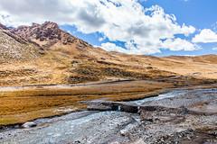 Stone bridge (Kelvinn Poon) Tags: river tibet  stonebridge