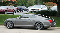 Bentley Continental GT Speed (SPV Automotive) Tags: sports car speed grey continental exotic gt coupe bentley