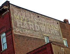 Wm. Redmond Hardware, Grove City, PA (Robby Virus) Tags: sign wall hardware pennsylvania painted ghost ad plumbing william wm advertisement faded redmond signage grovecity