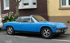 VW-Porsche 914/6 (TIMRAAB227) Tags: auto car vw bonn convertible coche porsche cabrio targa cabriolet vwporsche dringhcfporscheag