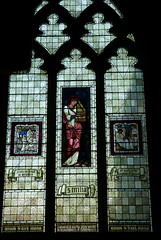 Cheddleton, Staffordshire (jcameronuk) Tags: church interior stainedglass preraphaelite