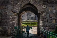Golconda fort, Hyerabad, India (Raji PV) Tags: door stone gate arch fort granite hyderabad golconda raji philipose rajipv