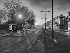 Urban Sunrise (Maggie's Camera) Tags: liverpool sunrise dawn spring urbansunrise smithdownroad 2016