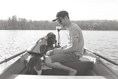 107 / 365 (Tara Gadwell) Tags: dog lake boyfriend boat fishing hound babe basset rowboat bassethound hounddog 365project 365challenge 365daychallenge 365dayproject lakedog