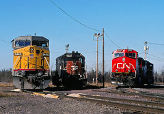 Itasca Variety (Missabe Road) Tags: up cn sp unionpacific itasca 6825 2562 9445 sd45t2