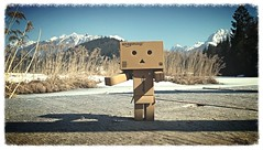 Danbo on tour (Spookyfilm) Tags: toys danbo geroldsee danboard toysphotography
