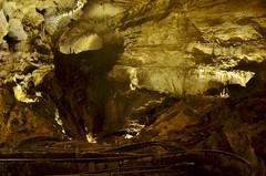 Subterranean Switchbacks (evanlochem) Tags: park new city america underground mexico hiking united trail national cave whites states carlsbad stalagmite caverns stalactite