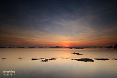 Another Day (engrjpleo) Tags: travel sunset sea sky cloud seascape beach water colors landscape coast seaside outdoor philippines shore elnido palawan waterscape corongcorongbeach
