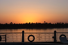 Sunset at the river Nile - Egypt (Ferdous Firoz Amin) Tags: river egypt nile aswan
