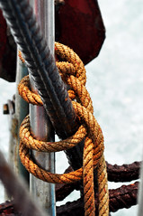 Sailor's knot (Roving I) Tags: tourism vertical boats sailors vietnam ropes knots danang shipshape seahorseyacht