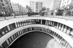 Marseille - Dans le Gouffre (Ynosang / Synopsis) Tags: street urban bw monochrome architecture mono blackwhite marseille noir sony nb alpha blanc a7 urbain archi panier massilia 14mm synopsis samyang ynosang