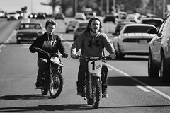 Untitled B&W (Jeffrey Deal) Tags: street bike contrast hoodie high motorcycles bikes motorcycle motor