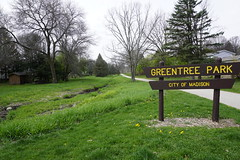 027.GreentreeSign-park (aetherspoon) Tags: park greentree