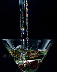 ..tensioni nel bicchiere.. (dettaglio) (Antonio Iacobelli (Jacobson-2012)) Tags: color glass watercolor nikon martini cocktail oil splash nero cibo bari acrylics interni d800 sfondo bevanda bicchere sb900 sb910