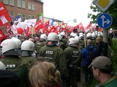 DSCN0881 (kbj102) Tags: germany protest police summit warming rostock global g8 anticapitalism anticapitalist heiligendamm