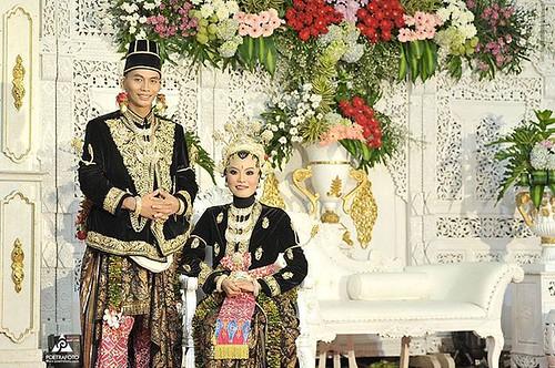 Foto Wedding Dg Baju Pengantin Adat Jawa Paes Ageng