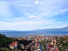 Vista su Fiume (Rjeka) Croazia, 25 aprile 2016 (Aliprando) Tags: travel panorama landscape photography view fiume croatia vista viewpoint croazia jugoslavia rjeka