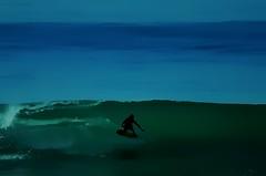Lone Surfer (beachpeepsrus) Tags: beach surf surfer wave surfboard