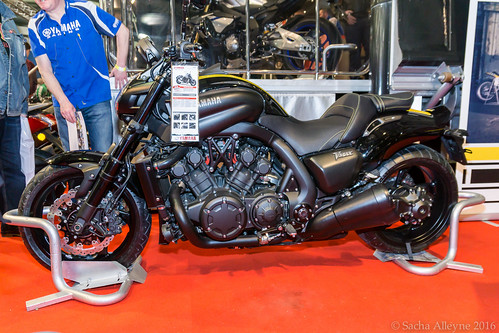 MCN Scottish Motorcycle Show 2016 - Yamaha VMAX