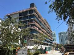 Cassa Brickell Construction (Phillip Pessar) Tags: building architecture construction downtown miami condo condominium brickell cassa